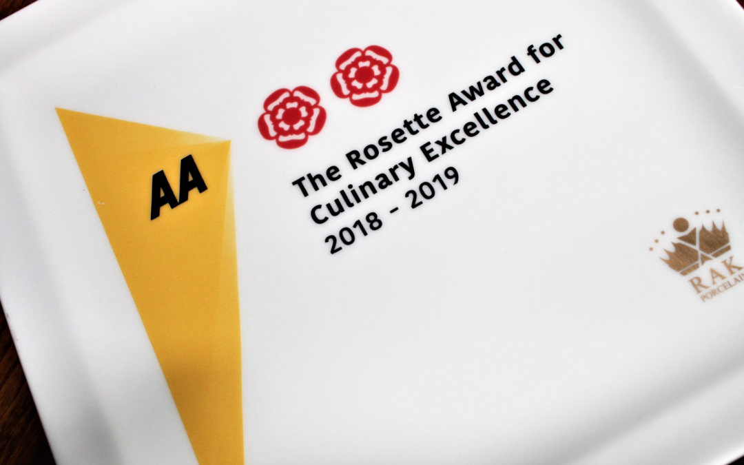 2 AA Rosettes for The Purefoy Arms